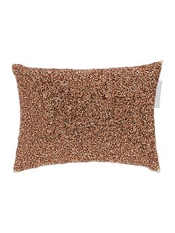 Showgirl rose gold 20x28cm cushion