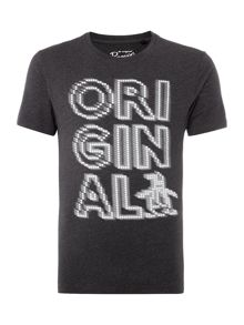 Original Penguin Blinded By The Lights Short Sleeve T-shirt