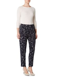 Ellen Tracy Printed high waist trousers