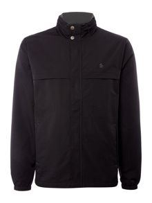 Original Penguin Concealed Hooded Lightweight Coat