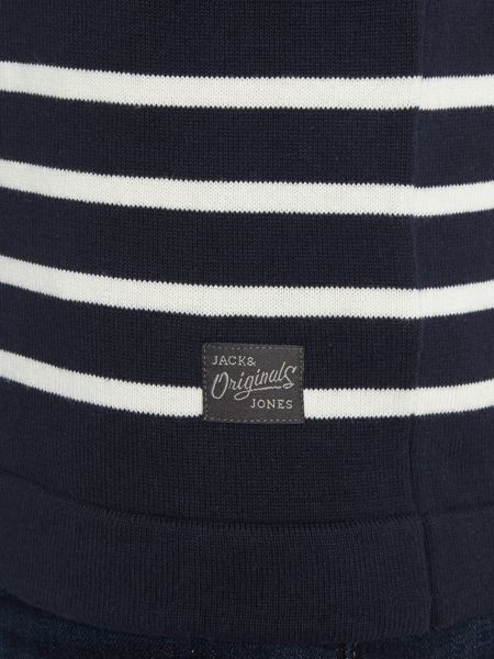 Jack & Jones Stripe Crew Neck Knitted Jumper