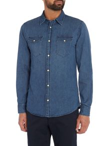 Jack & Jones Denim Long Sleeve Shirt