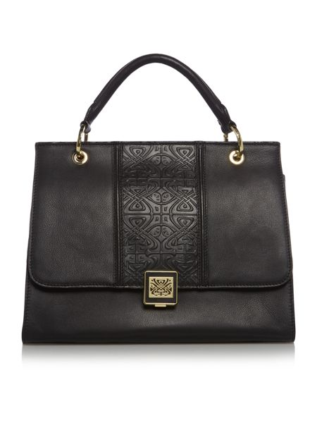 Biba Colette large top handle bag