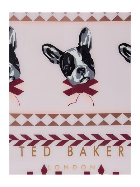 Ted Baker Anscon light pink bowcon bag