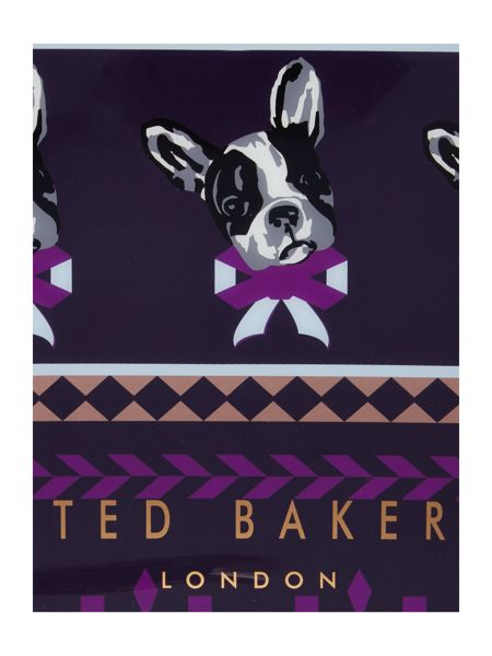 Ted Baker Anscon navy small bowcon bag