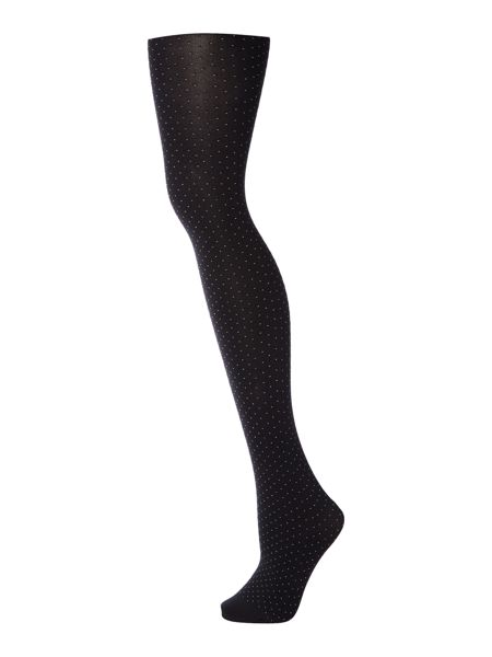 Charnos Mini spot opaque tights