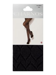Charnos Snake skin opaque tights