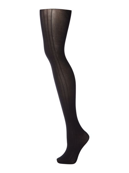 Charnos Variable stripe opaque tights