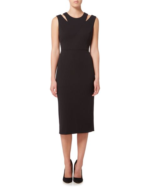 Episode Sleevless shift dress with cut out