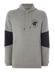Jack & Jones Stripe Arm Hooded Sweatshirt