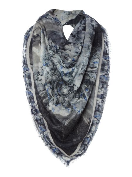Label Lab Reflection print scarf