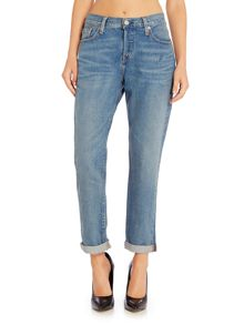 Levi's 501 Boyfriend tapered jean in island azure