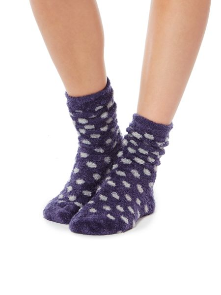 Linea Spot supersoft lounge sock