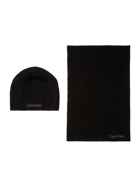 Calvin Klein Emma hat and scarf gift set