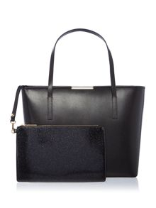 Ted Baker Camilla black large tote bag
