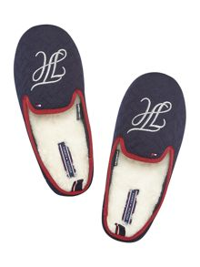 Tommy Hilfiger Quilted logo mule slipper