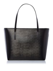 Ted Baker Carilen black large bow tote bag