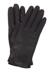 Calvin Klein CK logo leather glove