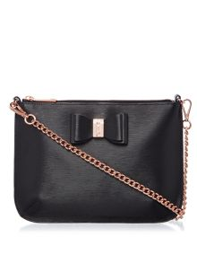 Ted Baker Caisey black small cross body bag
