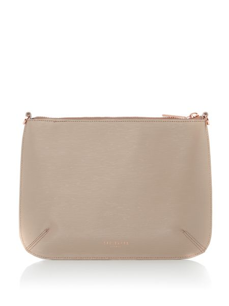 Ted Baker Caisey neutral small cross body bag