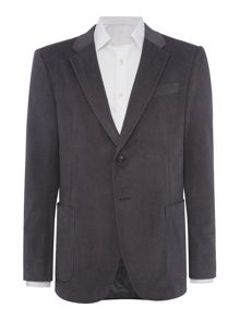 Armani Collezioni Single Breasted Grey Blazer