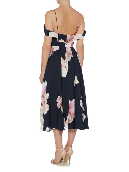 Talulah Cold Shoulder Chiffon Dress