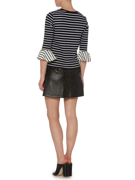 Lost Ink Long Sleeved Striped Top