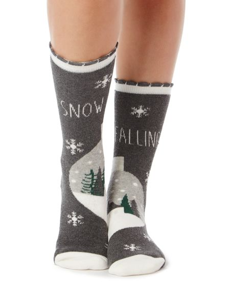 Therapy Snow is falling bed sock