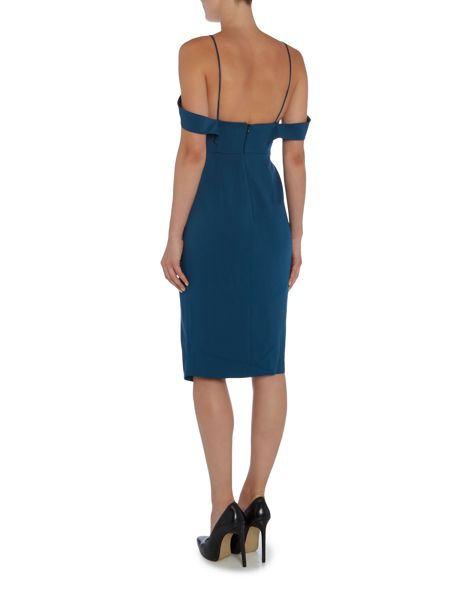 Talulah Cold Shoulder Bodycon Midi Dress