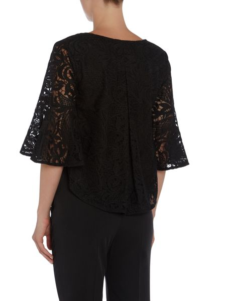 Talulah 3/4 Bell Sleeve V-Neck Top