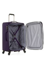 Antler Cyberlite II purple 4 wheel soft medium suitcase