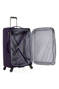 Antler Cyberlite II purple 4 wheel soft large suitcase