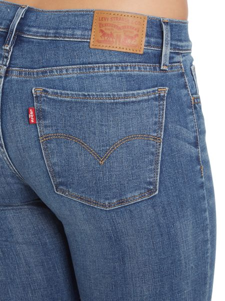 Levi's 710 mid waist super skinny in sailing daze