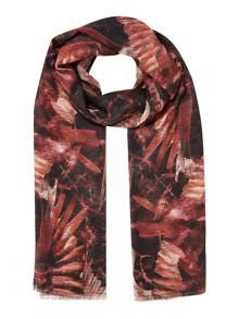 Label Lab Bird print scarf