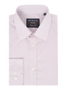 Howick Tailored Glenway Miniature Geo Print Shirt