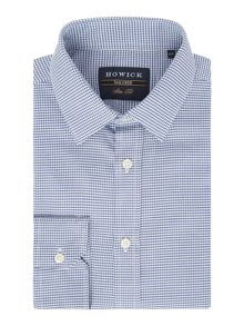 Howick Tailored Malone Puppytooth Check Shirt