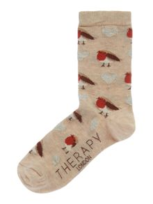 Therapy Robin sock