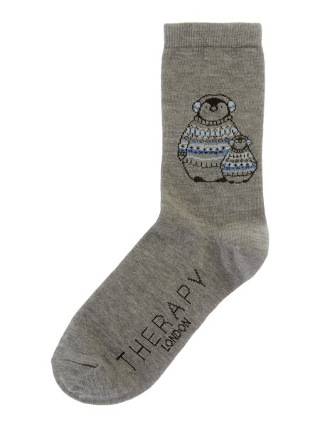 Therapy Penguin sock