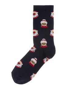 Therapy Mr & Mrs xmas socks