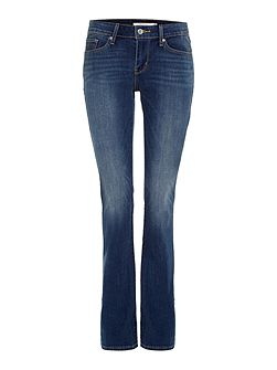 715 mid rise boot cut jean in lake