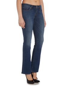 Levi's 715 mid rise boot cut jean in lake front