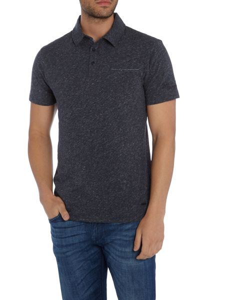 Hugo Boss Phylo 1 pocket script logo polo