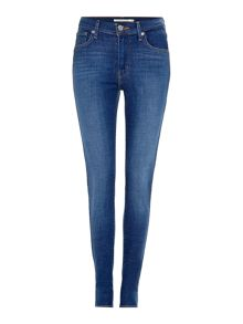 Levi's High rise super skinny jean in bright haze