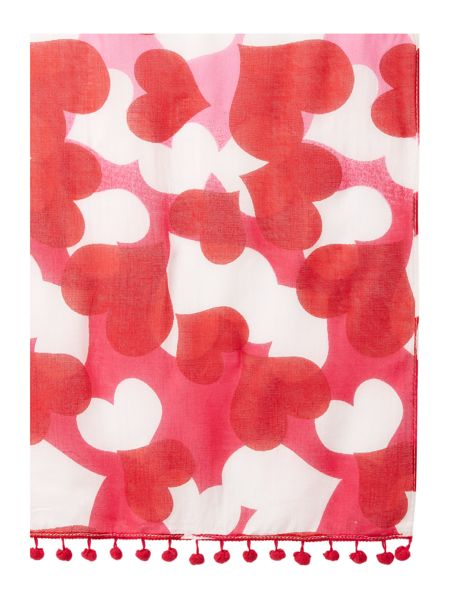 Lola Rose Boxed hearts scarf