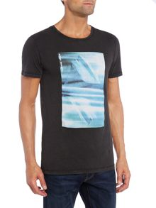 Hugo Boss Tygo 2 iceberg photo print t shirt