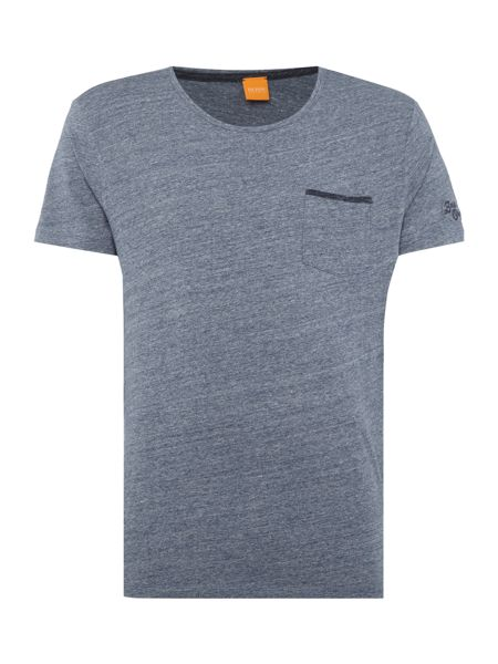 Hugo Boss Tabary 1 pocket script logo t shirt