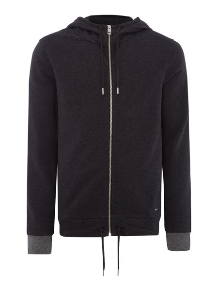Hugo Boss Ztager zip through hoody