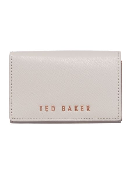 Ted Baker Carley light pink small flapover purse