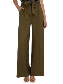 LYDC Wide Leg Full Length Trousers