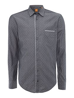 Cieloebue regular fit chambray dobby shirt